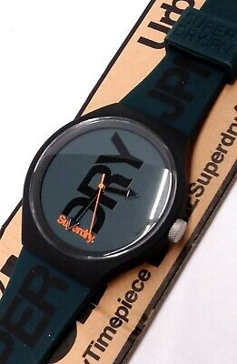 Superdry Men's Analogue Quartz Watch with Silicone Strap SYG189NB