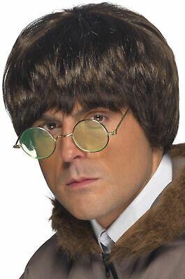 Men's 1990's Brit Pop Liam Noel Gallagher Fancy Dress Wigs Oasis Tribute Stag - Gallagher Kostüm