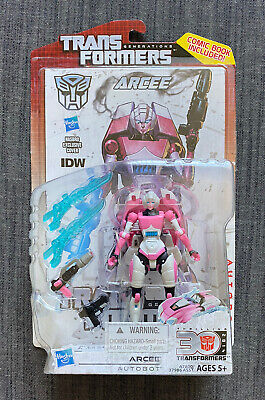ARCEE TRANSFORMERS GENERATIONS Figure w/ Comic Book HASBRO 2014 30th Anniversary