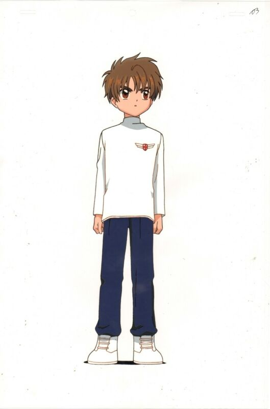 Anime Cel Card Captor Sakura #180