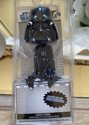 Funko Star Wars Darth Vader Computer Monitor Sitter Bobble-Head Perfect Package