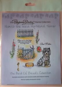 Pollyanna Pickering  Stamp Collection For Card Making West Highland Terrier