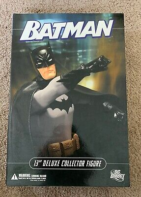 """Batman 13"""" Deluxe Collector Figure Dc Direct Batman 13 Deluxe Collector Figure"""