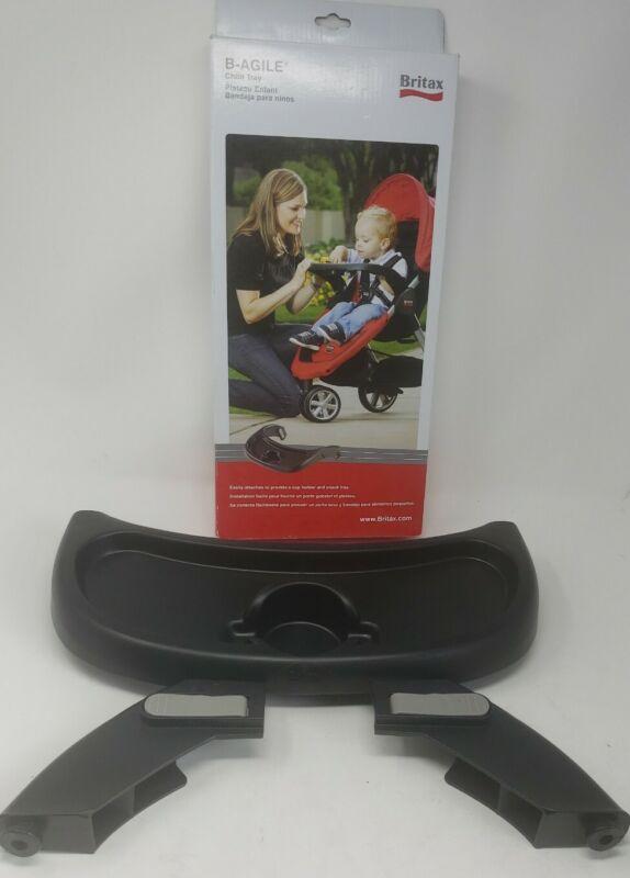 Britax Child Tray Single B-Agile B-Free Pathway Strollers, Black, New In Box