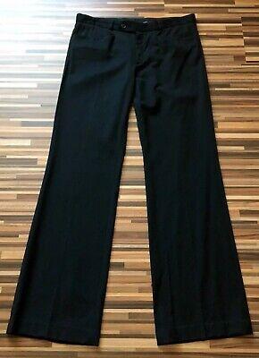 Joseph Blend Linen Wool Mix wide leg Trousers Sz 38 UK size 10 12 Made in France