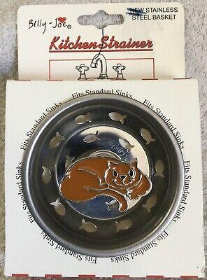 Billy-Joe Kitten Cat Kitchen Sink Strainer Stopper Pet Animal Basket Gift #L* (Billy Joe Sink Strainers)