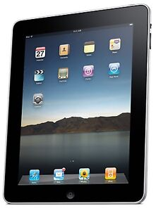 Apple iPad [1st Generation] 16GB, Wi-Fi, 9.7in - Black (MB292LL/A) (A)