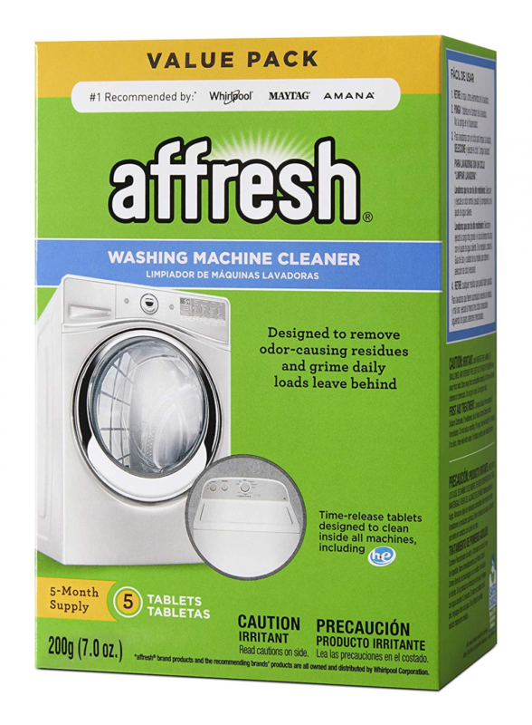Affresh W10549846 Washing Machine Cleaner, Cleaning Powder,