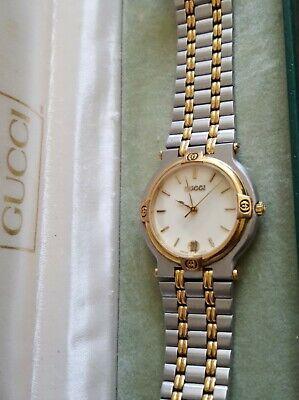 Gucci 9000M Mens Watch 32mm - Gucci Box