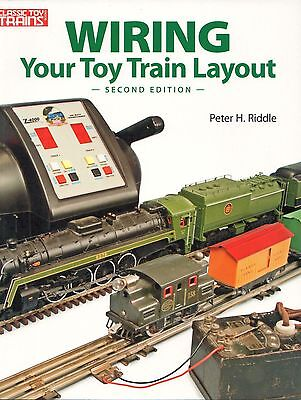 Kalmbach How To - KALMBACH WIRING YOUR TOY TRAIN LAYOUT repair how to set up design 108405 NEW