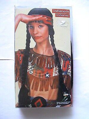 Damen Indianer Kleid  Karneval + passende Perücke ()