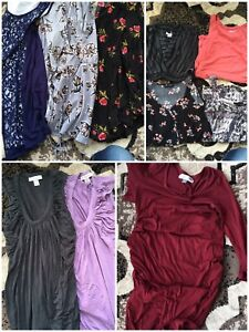 Lot of maternity clothes (8-10)