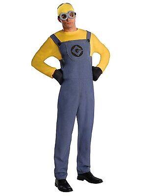 Herren Kostüm Minions Dave Gr. M-L Erwachsen Fasching - Herren Minion Dave Kostüme