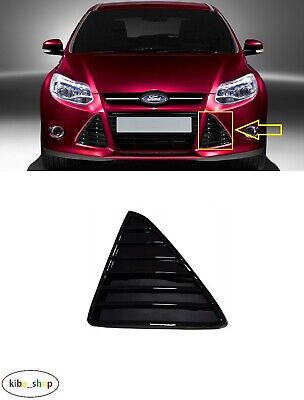 Honeycomb Left Right Lower Bumper Grille Fit For Ford Focus MK3 MKIII 2012-14