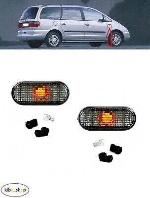 TYC Side Marker Light Smoke Gray N//S=O//S Fits FORD SEAT VW Polo 1991-1995