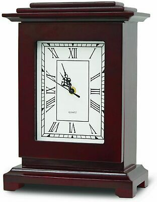 Mantel shelf Clock Gun Concealment Safe decorative secret stash hidden storage