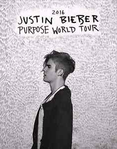 2x Justin Bieber tickets Perth C6 Perth Perth City Area Preview