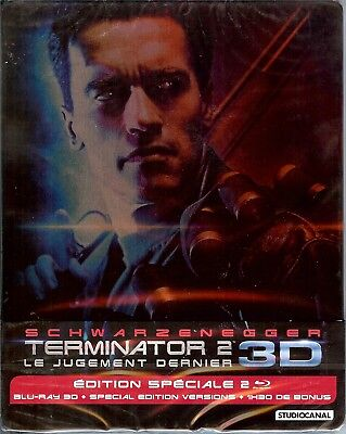 TERMINATOR 2: Judgment Day 3D Limited Edition SteelBook; Region B France Import for sale  Sarasota