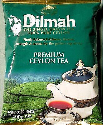 (Dilmah Premium Quality  Leaf Tea Sri Lanka Ceylon Tea 200g)