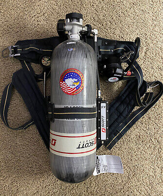 Scott 4500 Psig Air-pak 75i Scba Self-contained Breathing Apparatus - 60 Min