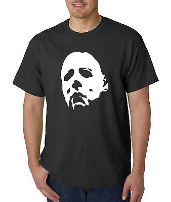 Horror Halloween Mask T-Shirt -1978 Scary Classic Movie Horror