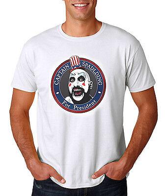 Captain Spaulding For President T-Shirt / Halloween Horror Movie Style - Captain Spaulding Shirt