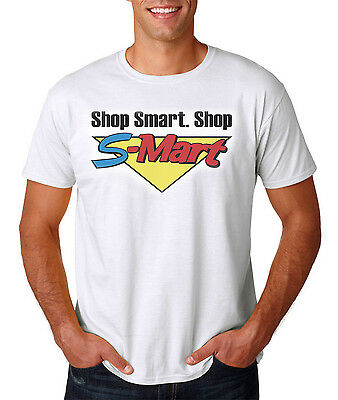 Shop Smart Shop S-Mart T-Shirt - Funny Halloween / Horror Movie Style Tee (Halloween Shops)