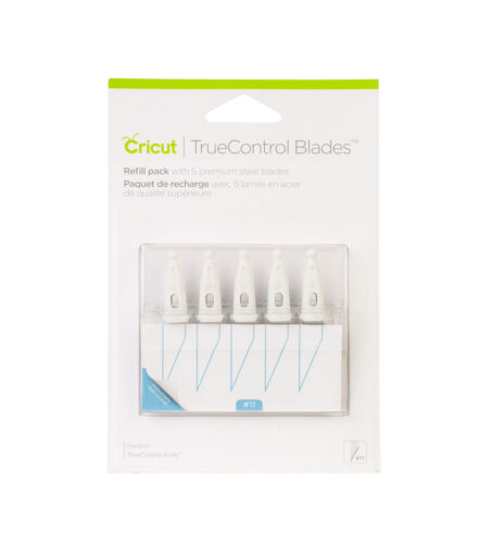 *New* Cricut TRUE CONTROL KNIFE REFILL BLADES Replacement Unopened Free Ship