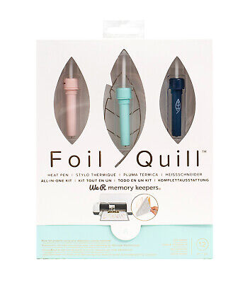 American Crafts We R Memory Keepers Foil Quill All-in-one Kit NEW SEALED