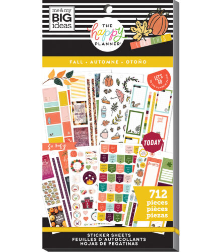 The Happy Planner Sticker Value Pack-Fall  - 712 NEW