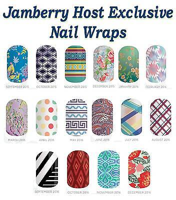 Jamberry Nail Wraps   Host Exclusives   Half Sheets   Free Shipping