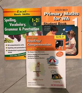 Year 1 English & Maths books