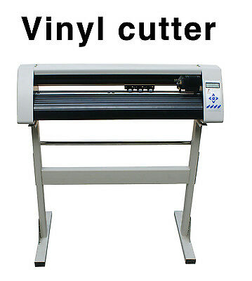 24 630mm Redsail Usb Plotter Vinyl Cutter Machine Rs720c Artcut 2009 New