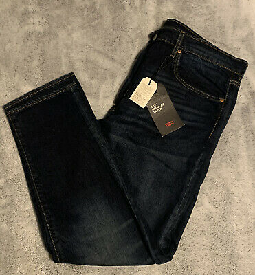 LEVI'S PREMIUM 502 REGULAR TAPER FIT STRETCH JEAN MEN'S 38x30 MSRP$79 29507-0011