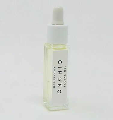 Herbivore Orchid Youth Preserving Face Oil Glass Dropper Travel 0.3oz/8ml NWOB