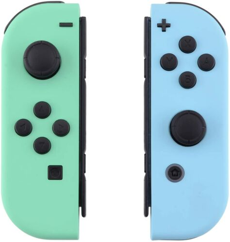 Nintendo Switch Animal Crossing Joy-Con Housing SHELLS Mint Green, Heaven Blue