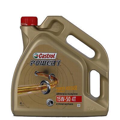 Castrol POWER 1 4T 15W-50 il prezzo è per 4 litri