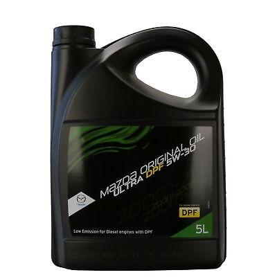 Mazda Original OIL ULTRA 5W30 DPF PER FILTRO ANTIPARTICOLATO OLIO MOTORE 5 LITRI
