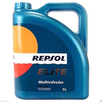 1 Botella de 5 litros de aceite del motor REPSOL ELITE MULTIVALVULAS...