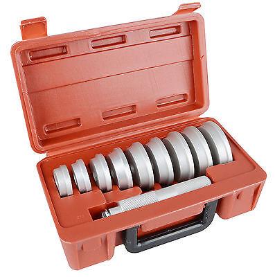 10pc Bushing Bearing Race and Seal Install Driver Set Kit Storage Box US Stock