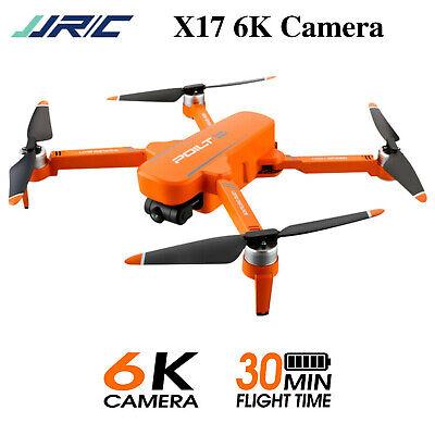 JJRC X17 Foldable Drone 5G WiFi FPV GPS 6k HD camera Brushless Motor Drone