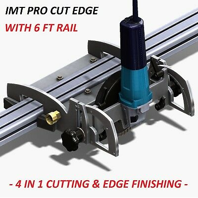 Imt Pro Cut Edge Makita Motor Rail Saw Grinder Polisher For Granite- 6 Ft Rail