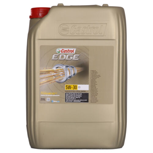 castrol edge titanium fst 5w 30 c3 20 litres bidon sortir de l 39 auberge. Black Bedroom Furniture Sets. Home Design Ideas