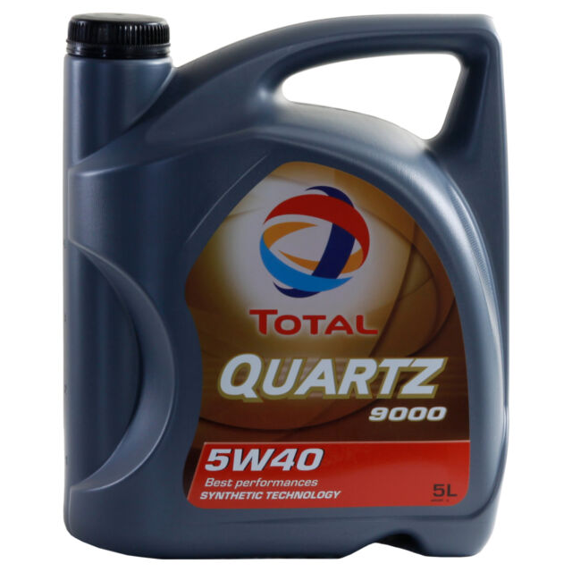 Total QUARTZ 9000 5W-40  5 Litre Can