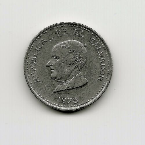 World Coins - El Salvador 25 Centavos 1975 Coin KM# 139
