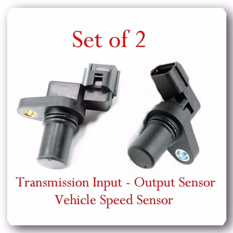 Wolfigo Transmission Input Output Vehicle Speed Sensor Vss: (Set 2) 39051 & 39052 Trans Input & Output Speed Sensor