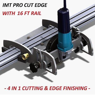 Imt Pro Cut Edge Makita Motor Rail Saw Grinder Polisher For Granite-16 Ft Rail