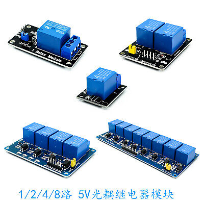 5v 11248 Channel Relay Board Module Optocoupler Led For Arduino Pic Arm Avr