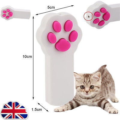 Cute Cat Claw Shape Laser Beam Pointer Pen Lazer Cat Kitty Play Amusement Toy JM