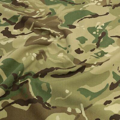Bundeswehr Camouflage Baumwoll-Stoff wasserdicht Plane Zelt Flecktarn Meterware